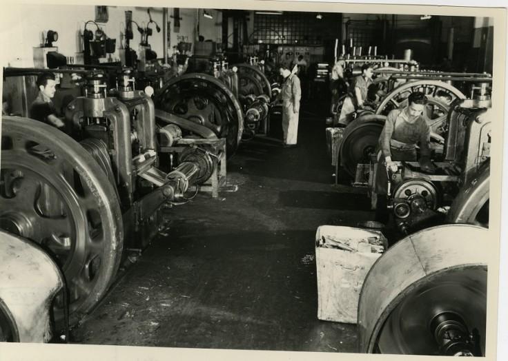 Máquinas laminadoras