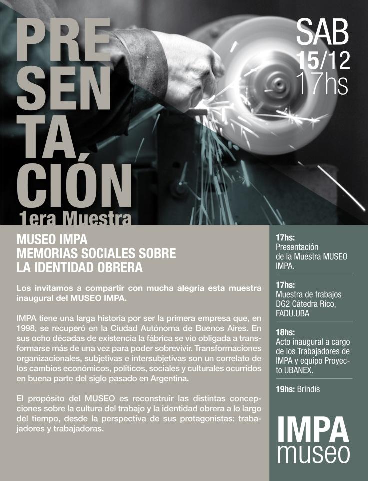 Primera Muestra Museo IMPA