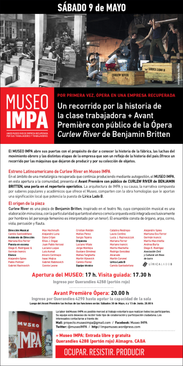 Eflyer Museo IMPA apertura mayo 2015